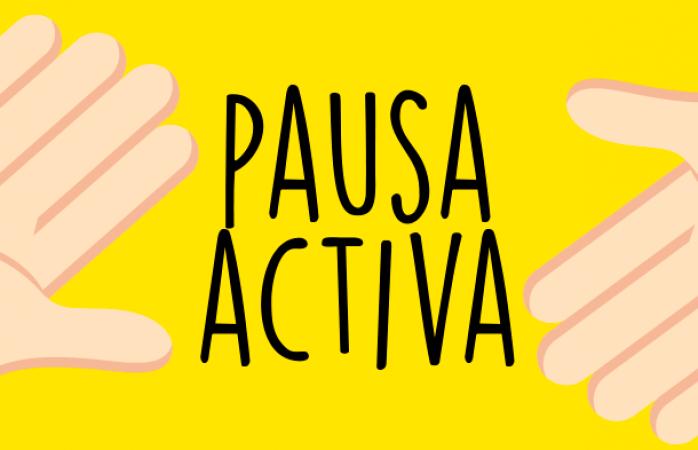 ¡Recargate de energía y haz una pausa activa!
